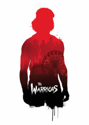 movie film warriors retro print illustration new york design wallart creative