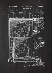 meat bone saw circular blade workshop tool tools farm halal food blackboard blueprint chalk vintage patent drawing