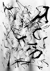 onceuponabrushstroke blackandwhite inkonpaper freehand irisaz pattern brushstrokes
