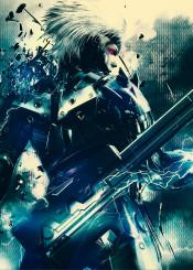ninja raiden cyborg raising sword gaming