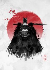 japan ninja samurai sun sumi sumie anime manga comic