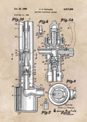 patent patents sanitary hydrant water decor decoration illustration