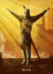 astora  praise  solaire  solaire of astora  sun  warrior  characters  game  gamer  gaming  sunlight