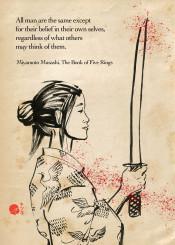 japan japanese woman onna samurai ronin katana kimono sword buddhist zen bushido