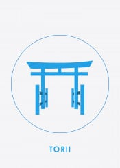 torii japan landmark silhouette collections displays architechture beautiful places