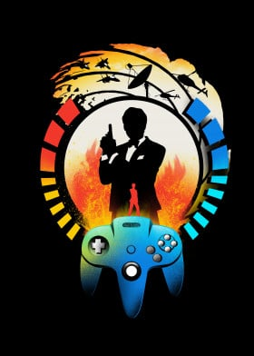 games videogames gaming gamer geek nerd jamesbond 90s 80s popculture