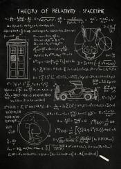 doctor who car delorean back futur donnie darko terminator space time tardis bunny math