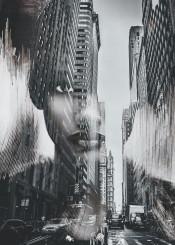 city street woman portrait photography digital