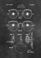 ophthalmic mounting oculars patent patents decoration black white medicine ophthalmologist oculist