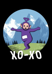 xoxo parody cute funny teletubbies tv cool music sound