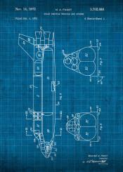 space shuttle nasa patent spaceshuttle engineering flight astronaut