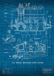 wright brothers wrightbrothers flight engine patent blueprint