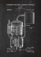 whisky whiskey still patent drawing walker johnny jack daniels cognac alkohol bar bars cafe blackboard blueprint beer beers drink drinks