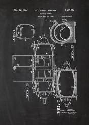barrel whiskey whisky vodka alkohol patent drawing beer beers johnny walker jack daniels blackboard blueprint vintage bar bars drink drinks party disco