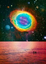 surreal surrealism digital digitalart digitalcollage photo photoshop photomanipulation desing graphicdesign space sea