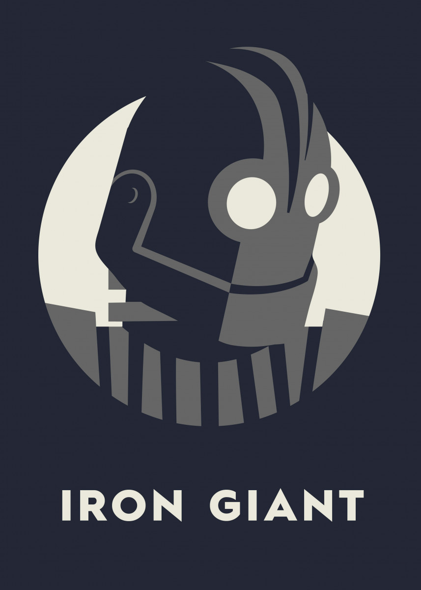 """Simple design from the great film """"The Iron Giant"""" 582545"""