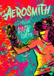 aerosmith steventyler poeperry rock hardrock usa band fame 90s vr livtyler aliciasilverstone amazing crying