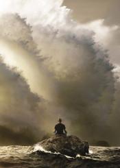 yoga lotus meditation force storm