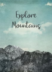 quote18  mountains  texture  wilderness  alps  clouds  travel  hiking  outdoors  motivation  retro