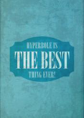 hyperbole english language pun funny humor writing journalism ironic words typography