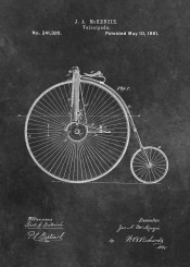 patent, art, patents, graphic, illustration, invention, vintage, scheme, decor, decoration, velociped  bicycle  cycling
