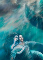 mermaid sailor drama ship ocean