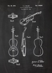 violin orchestra music sound play patent drawing blackboard blueprint mozart bach classical classic
