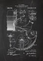 drum drums rock rol play sound music patent drawing blackboard bluneprint chalk draw drummer