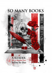 books time lives reader booklover roses quote18