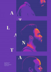gambino childish atlanta series donald glover glitch typo neon color cult film movie cinema rap hiphop