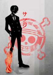 japan  japanese  sanji  luffy  one piece one  piece  anime  manga  ink  ining  skull  pirate  crimson  fanfreak  zoro  kanji  minimal  cool  inspire
