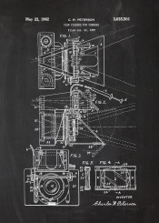 camera cameras patent drawing cinema cinematogrpahy picture theatre motion photo photography foto blackboard blueprint