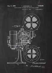 motion picture photo cinema cinematography teathre film movie blackboard blueprint patent drawing