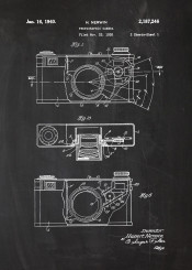 photo photographic foto camera cam patent drawing blackboard blueprint picture capture vintage