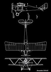 ansaldo sva plane planes airplane airplanes awiation aviation blueprint black white pattent pattern war