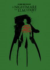 wes craven horror terror cinema film movie print design illustration minimalist englund