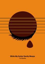 beatles guitar minimal minimalist minimalism icon pictogram
