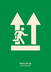 curtis mayfield move minimal minimalist minimalism icon sign exit
