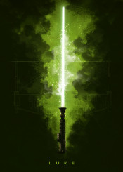 starwars lightsaber jedi luke