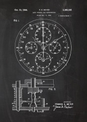 watch clock watches hamilton omega seiko casio blackboard blueprint vinage chrono chronometer patent drawing time patek breitling philippe