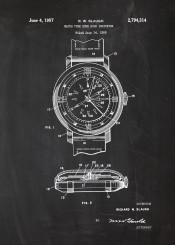 watch watches clock time zone blackboard chrono chronometer blueprint vintage rolex seiko casio breitling atlantic delbana