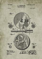 watch clock time hour patent drawing blackboard bluprint vintage chronometer chronograph casio seiko omega hublot tissot