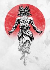 anime manga dragon goku broly super japan saiyan