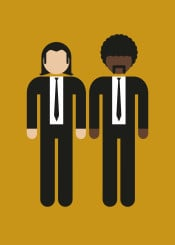 pictogram movie film character minimal minimalistic portrait geek cult