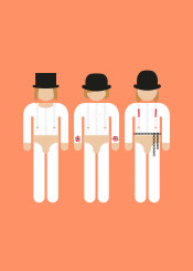 film movie character minimal minimalistic icon pictogram cult