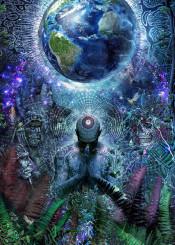 gratidude  love  prayer  life  alive  inspiring  meditation  zen  trippy  psychedelic  lsd  dmt  cameron  gray  grey  earth  world  awakening