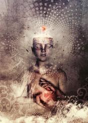 meditation  zen  silent  still  love  heart  peace  ritual  meditate  spiritual  yoga  cameron  grey  gray
