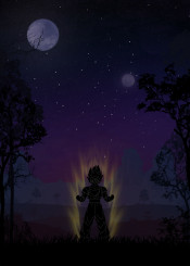 dragon ball dbz db dragonball dragons kk kkcreative anime manga inspired naruto warriors landscapes warrior hero heroes super saiyan sayian displate metal posters movie movies film tv show character characters power design legend legendary legends illustration fantasy world moon night