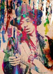 jimi hendrix 60s psychedelic rock roll guitar guitarist