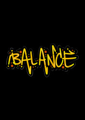 balance wisdom urban handlettering lettering text street yellow red orange